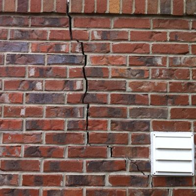 Cracked Brick work