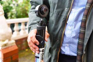 Ballcam surveillance camera system